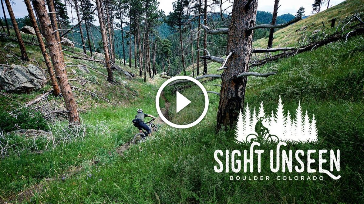Riding Sight Unseen with Brice Shirbach [Video] - Singletracks Mountain Bike News