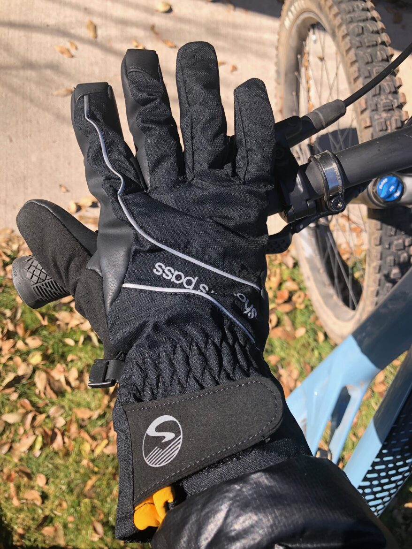 great 4 cycling AMAZINGLY WARM Titanium Neoprene gloves XStretch grippy palm