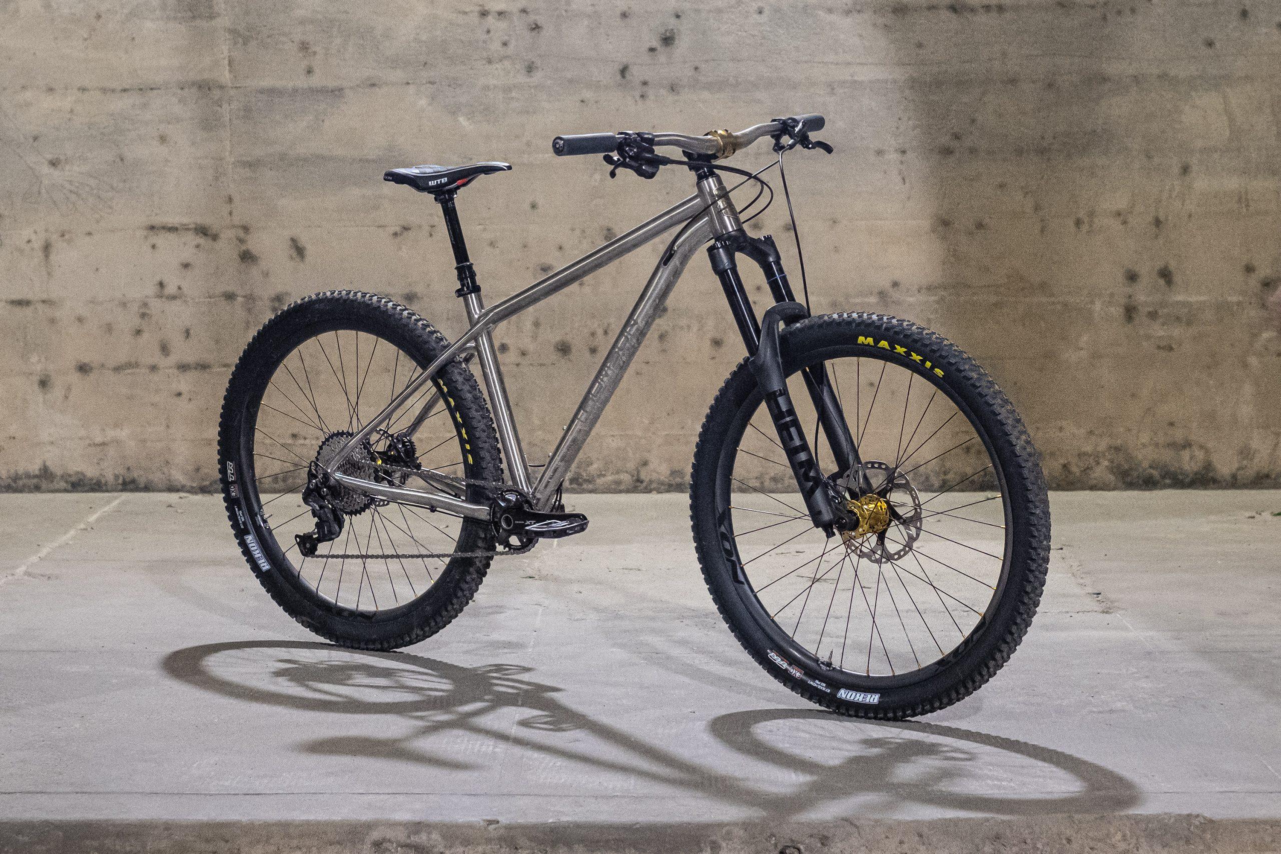 New Thomson Hooch Titanium Hardtail is Named after North Georgia's Chattahoochee - Singletracks Mountain Bike News