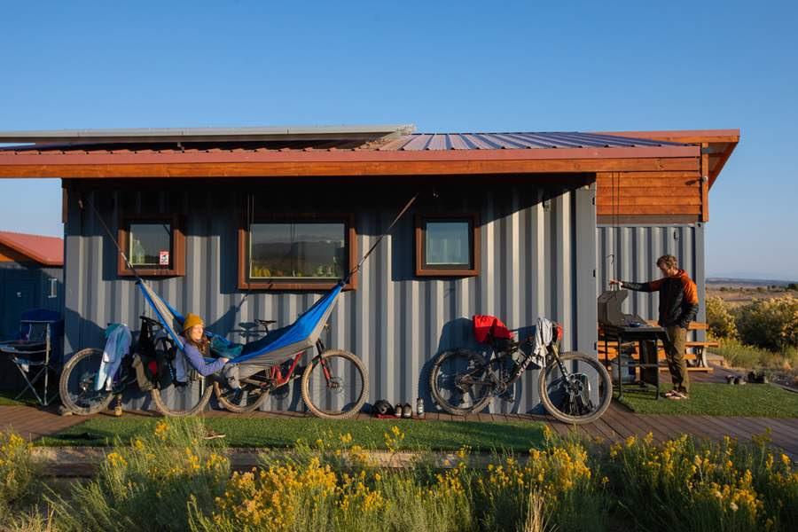 New Aquarius Trail Hut System Offers Supported Bikepacking Through Southwest Utah - Singletracks Mountain Bike News