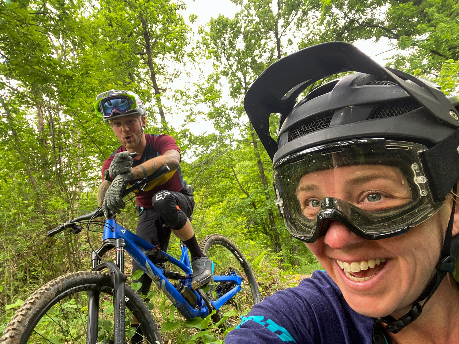 Life Partners as Trail Partners: A case for Dating Mountain Bikers, and Taking Lovers Mountain Biking